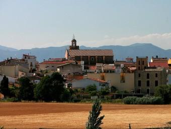 Imatge panoràmica de la vila de Vidreres la setmana passada. MANEL LLADÓ