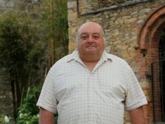 L'alcalde de Palau-sator, el republicà Joan Sabrià E.A