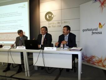 L'empresa Gas Natural va presentar dimarts el projecte per fer un gran magatzem de gas a Balsareny ACN