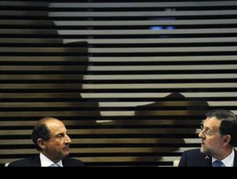 Mariano Rajoy en una conferència a Sao Paolo.  REUTERS