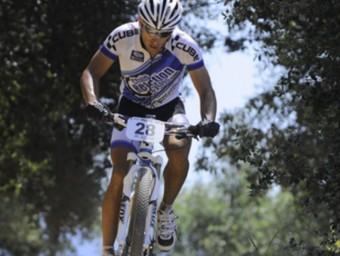 Ventura, el campió absolut a Aiguaviva. LLUÍS VERT