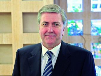 Ollé és degà dels notaris catalans i vicepresident del Consejo General del Notariado  L'ECONÒMIC