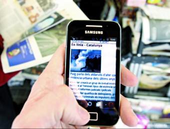 El món digital ha capgirat la manera de fer i consumir continguts informatius.  ARXIU