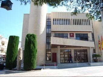 Edifici de l'Ajuntament de Bellreguard. ESCORCOLL