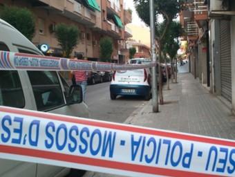 Els Mossos han acordonat el lloc on s'ha produït el tiroteig ACN