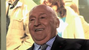 El professor Fabià Estapé en una entrevista a TV3.  ARXIU