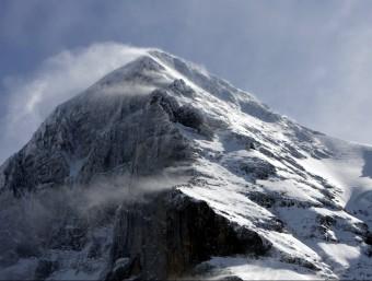 Una imatge del cim de l'Eiger, als Alps suïssos EFE