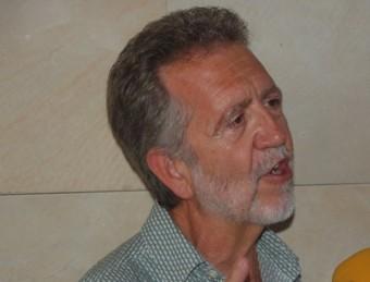 Jordi García Vilar és l'autor i director de l'obra que es representa a Banyeres de Mariola cada tres anys. B. SILVESTRE