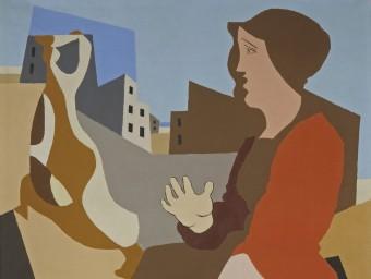 'Dona i ocell' (1932), una de les obres que Léopold Survage va pintar a Cotlliure MAMC