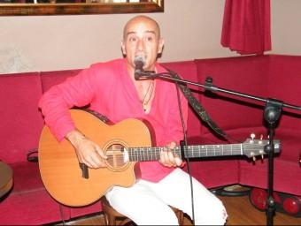 Canimas, ahir a la presentació del festival Mugada, que va tenir lloc al Soul Cafè de Figueres JENNIFER OLBRICH