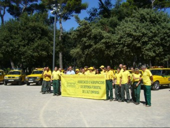 La presentació de la campanya es va fer al Parc Bosc de Figueres ahir. M.V