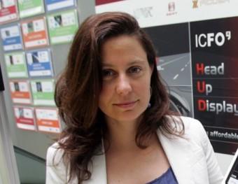 Silvia Carrasco és la responsable del departament de transferència del coneixement i de la tecnologia (KTT) de l'Icfo.  JUAMNA RAMOS