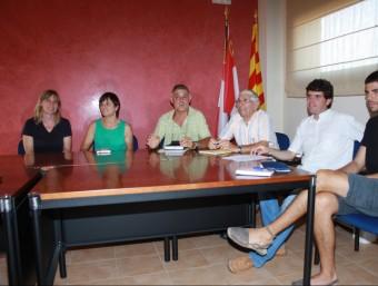 Reunió de juliol del 2012 d'alcaldes afectats pel parc eòlic