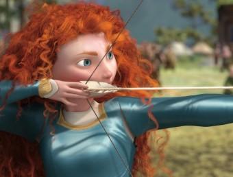 Brave, darrera producció de la factoria de Disney i Pixar.  ARXIU