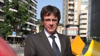 Puigdemont valora positivament la presència del ral·li a Girona J. SABATER
