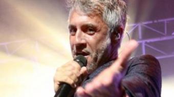 Sergio Dalma, dijous a Cap Roig, interpretant el seu espectacle 'Via Dalma 2' JOSÉ IRÚN