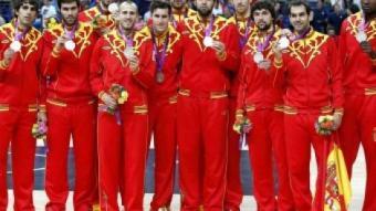 Els jugadors de la selecció espanyola de bàsquet s'enduran 348.000 euros per la medalla de plata EFE