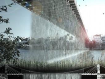 Imatge virtual del projecte The Watterfall. EL PUNT AVUI