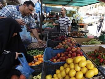 Mercat de productes bàsics a Bagdad  REUTERS