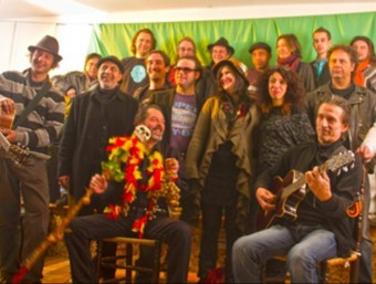 Artistes del col·lectiu Joan Pau Giné que participaran a la Setmana per la Llengua CJPG