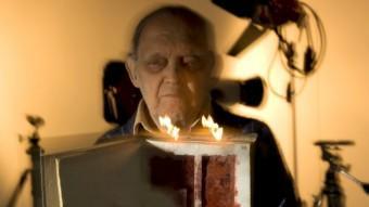 Imatge de l'exposició L'artista i el mirall amb fotografies de Paco Torres Montso fetes per J.M. Oliveras i acabada d'estrenar JOSEP M. OLIVERAS