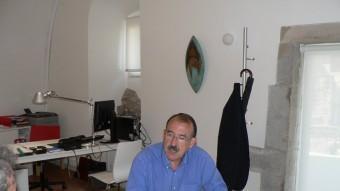 Pere Freixas, director del Museu d'Història de la Ciutat. PAU LANAO