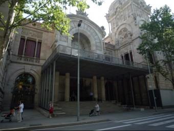 El Palau de Justícia , que és la seu de l'Audiència de Barcelona, que comença a celebrar judicis en què la fiscalia sol·licita la mesura de la llibertat vigilada a reincidents QUIM PUIG