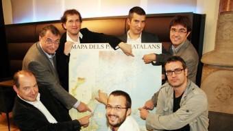 Els participants del primer debat ANDREU PUIG