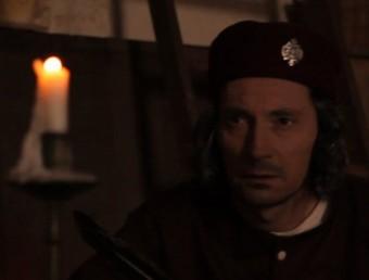 Colom (Joan Frank Charansonnet) , il·luminat per la llum de les espelmes EL PUNT AVUI