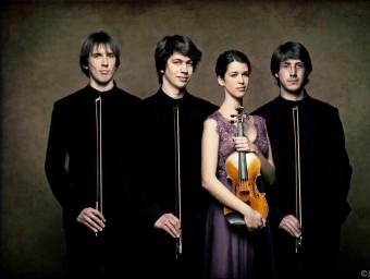 El Quartet Gerhard  , EN UNA FOTO PROMOCIONAL