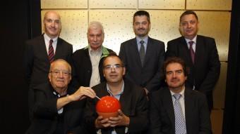 Els set empresaris catalans que han participat en el debat ORIOL DURAN