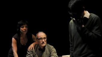 L'actor Francesc Orella és el periodista que esdevindrà candidat a 'Pàtria'. DAVID RUANO