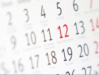 El dia 12 d'octubre, en un calendari ACN