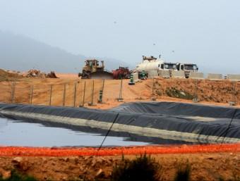 L'abocador de Solius, a cavall del Baix Empordà i el Gironès, on el volum de residus dipositats es reduirà dràsticament a partir de l'abril LLUÍS SERRAT