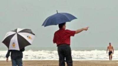Dia de pluges a les contrades de la demarcació d'Alacant. EL PUNT AVUI