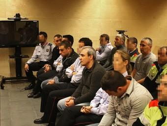 Els acusats van ser jutjats a la secció quarta de l'Audiència de Girona MANEL LLADÓ