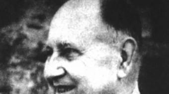 El geògraf Josep Iglésies va recuperar l'obra de Pere Gil.  ARXIU