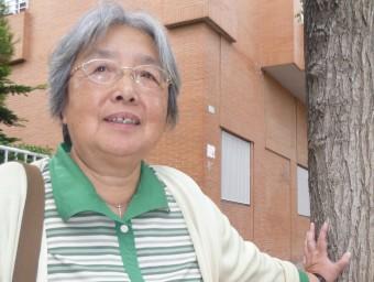 La catedràtica xinesa Zhu Kai  M.R.C
