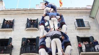 La torre de vuit dels Marrecs l'any passat, per Fires LLUÍS SERRAT