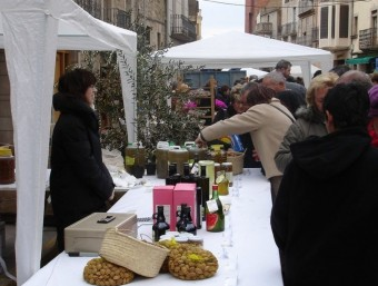 La fira aplega visitants de tota la comarca. Aj. ARBECA