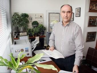 Peñarroja reclama més regulació del sector i, en concret, és molt crític amb les traduccions en l'àmbit judicial.  ANDREU PUIG