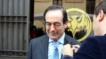 José Bono va coincidir la setmana passada amb Albert Rivera a Sitges ACN