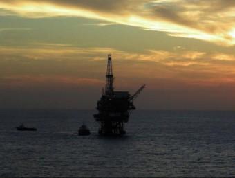 Plataforma d'explotació petrolífera al golf de Mèxic  ARXIU