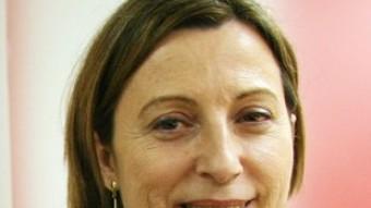 La presidenta de l'ANC, en una imatge d'arxiu ANDREU PUIG