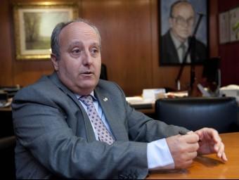 Enrique Vendrell es mostra crític amb les noves taxes judicials  JOSEP LOSADA