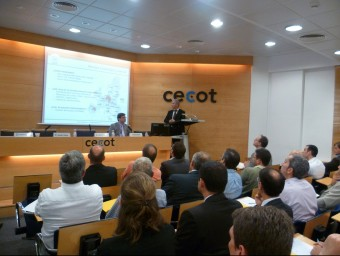 Jornada sobre business angels de Cecot.  JORDI TORRENTS