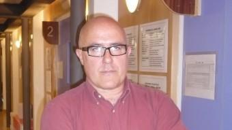 Miquel miró.  EL DIRECTOR DE LA FUNDACIÓ SEIRA, A LA SEU DE L'ENTITAT