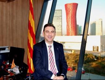 Carles Flamerich és director general de telecomunicacions de la Generalitat.  L'ECONÒMIC