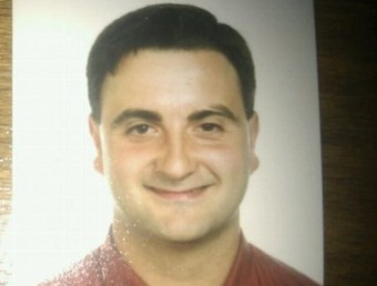 Una foto de la víctima, Emilio Mendoza, un veí de Sant Jordi de Cercs qui tenia 32 anys. G. P.