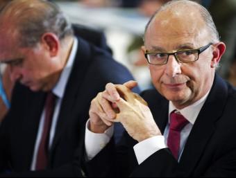 Montoro va prometre dilluns, a la interparlamentària del PP, diners per pagar als proveïdors en 30 dies.  EFE